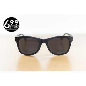 [LD1478 ดำด้าน] กรอบแว่นคลิปออนแม่เหล็ก Ultem SIZE L