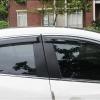 กันสาดมีคิ้วโครเมียม Mazda 3