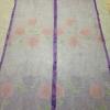 ม่านกันยุงแบบพิมพ์ลาย ไชส์ 100 สีม่วง/ดอกกุหลาบ