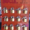 กุญแจ 20 mm BOCIA. 12ลูก ทองเหลืองแท้