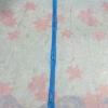 ม่านกันยุงแบบพิมพ์ลาย ไชส์ 100 สีฟ้า/ดอกลิลลี่
