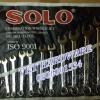 ประแจแหวนข้างปากตาย 11 ตัวชุด SOLO 8-24 No.9011