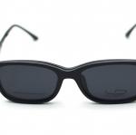 [LD7003 ดำด้าน] กรอบแว่นคลิปออนแม่เเหล็ก เบา ยืดหยุ่น บิดงอได้ ส่งฟรี