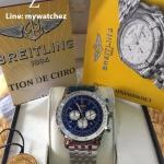 Breitling Navitimer 01 - Blue Dial Stainless
