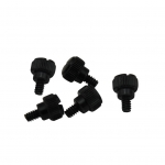 Hand tighten tool-free computer chassis screws