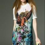 Sweet Bunny Present... Botanical Garden Print Dress