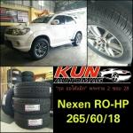 ยาง Nexen RO-HP > 265/60/18 จัดใส่ Fortuner