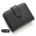 กระเป๋าสตางค์ ใบสั้น สีดำ รุ่น Beauty Girl mini