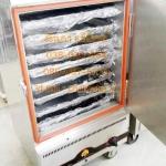 ตู้นึ่งข้าว8ชั้น ตู้หุงข้าว8ชั้นใช้แก๊ส ตู้หุงข้าวขนาดใหญ่ เครื่องหุงข้าว8ชั้น