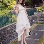 Cliona Made' - Samia Cocktail Dress W/B - Long Dress