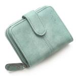 กระเป๋าสตางค์ ใบสั้น สีเขียว รุ่น Beauty Girl mini