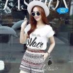 Korea Design By Lavida bohemian style shorts comfortable tribes set