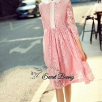 &#x1F33ALivonia pink lace dress by Sweet Bunny&#x1F33A