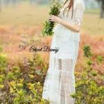 Sweet Bunny Present... Eedem Spring lace maxi dress