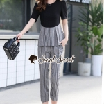 Seoul Secret Say's... Girly Worky Smart Stripe Set