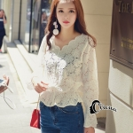 Cliona made' Lovely Lace Top