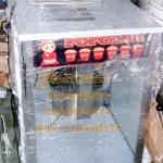 ตู้ป๊อปคอร์นไฟฟ้า16ออนสแตนเลส เครื่องทำป๊อปคอร์นใหญ่