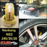 ยาง Nankang NS2 > 245/35/20 จัดใส่ Porsche