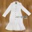 &#x1F380 Lady Ribbon's Made &#x1F380 Lady Isabel Sexy Minimal Bodycon Shirt Dress thumbnail 4