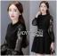 &#x1F380 Lady Ribbon's Made &#x1F380 Lady Elsa Classic with a Twist and Lace Black Dress thumbnail 4