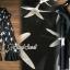 Seoul Secret Say's... Chiffon Starfish Print Ornamental Jumpsuit thumbnail 4