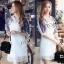 Sevy Make Up Stylish Women Organza Mini Dress(+Lining) thumbnail 5