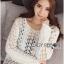 &#x1F380 Lady Ribbon's Made &#x1F380 Lady Elina Classic Vintage Crochet Lace Blouse thumbnail 5