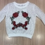 Cliona made' Victory Flowers Crown Embroidered Lace Shirt thumbnail 6