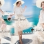 Seoul Secret Say's... Princess Flora Curvle Skirt Lace Blouse Set thumbnail 2