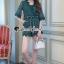 Seoul Secret Say's... Whiffle Rim Lace Murky Color Playsuit thumbnail 3