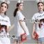 &#x1F380 Lady Ribbon's Made &#x1F380 Lady Elena Preppy Cutie Kitten Embroidered Cotton Dress thumbnail 3