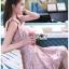 🎀 Lady Ribbon's Made 🎀Lady Eleanor Summer-Time Feminine Ribbon-Strap Lace Mini Dress thumbnail 2