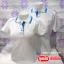เสื้อโปโลสำเร็จรูป สีขาวขลิบสีต่างๆ เนื้อผ้า TC คุณภาพอีระดับสวมใส่สบาย ราคาเบาๆ thumbnail 3