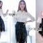 &#x1F380 Lady Ribbon's Made &#x1F380 Lady Emma Classic Vintage White Lace Shirt thumbnail 3