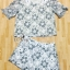 Sevy 3D Flora Lace Blouse With Shorts Sets thumbnail 9