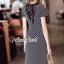 Seoul Secret Say's... Chic Lacely Rear Stripy Dress thumbnail 2