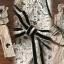 Seoul Secret Say's... Lacely Nood Color Black Rim Set Bow Waist thumbnail 4