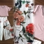 Seoul Secret Say's... Summer Vee Bohe Flora Print Pants Set thumbnail 4