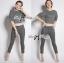 &#x1F380 Lady Ribbon's Made &#x1F380 Lady Clara Polka Dot Zip-Up Jacket and Pants Set thumbnail 1
