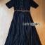 &#x1F380 Lady Ribbon's Made &#x1F380 Lady Leslie Modern Feminine Lace Shirt Maxi Dress thumbnail 5