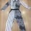 Cliona made' Black Hawks Sportswear Long Sleeves Top + Pant Set thumbnail 5