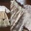 Seoul Secret Say's... Princess Flora Curvle Skirt Lace Blouse Set thumbnail 3