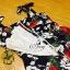 Sevy Forked Spade Flora Ribbon Shoulder Mini Dress thumbnail 9