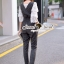Seoul Secret Say's... Bell Sleeve Layer Playsuit Set thumbnail 5
