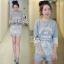 Sevy Alphabet Organza Lace Sweater Top thumbnail 2