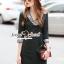 Seoul Secret Say's... Colory Sequin V Collar Dress thumbnail 1