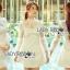 &#x1F380 Lady Ribbon's Made &#x1F380 Lady Hannah Little Princess Pure White Lace and Polyester Mini Dress thumbnail 4
