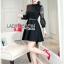 &#x1F380 Lady Ribbon's Made &#x1F380 Lady Elsa Classic with a Twist and Lace Black Dress thumbnail 2