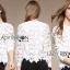 &#x1F380 Lady Ribbon's Made &#x1F380 Lady Ella Sweet & Sporty Lace Jumper thumbnail 3