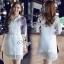 Sevy Make Up Stylish Women Organza Mini Dress(+Lining) thumbnail 6